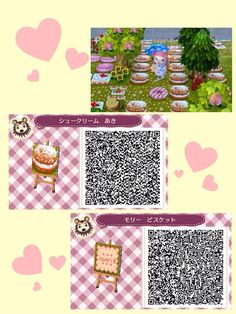 Animal Crossing: New Horizon / Leaf QR Code Paths — Credit Animal Crossing Qr, Mother Daughter Tattoos, Tattoos For Daughters, Lps, Acnl Paths, Motif Acnl, Picnic Blanket, Outdoor Blanket, Ac New Leaf