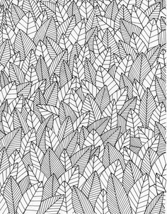 45 Ideas Black And White Line Art Pattern Zentangle For 2019 Pattern Design, Zentangle, Pattern Wallpaper, Pattern Illustration, Print Patterns, Leaf Texture, Zentangle Patterns, Coloring Pages, Pattern Art