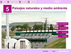 Tema 4. Paisajes naturales y medio ambiente by tonicontreras via slideshare