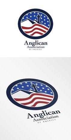 Anglican Association of America Logo by patrimonio on @creativemarket