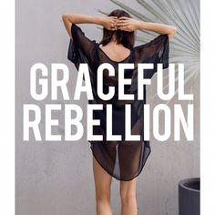 New Collection Graceful Rebellion is landing soon . How are you chosing to live? How are you standing up for what you believe in? Graceful Rebellion - the time is now. Yoga Wear, Gym Wear, Dance Wear, Jane Gray, Helvetica Neue, Woven Wrap, The Time Is Now, Organic Living, Byron Bay