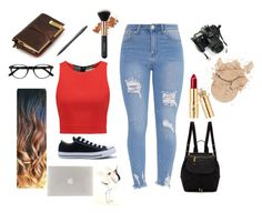"""""""Nori"""" by emese-vincze on Polyvore featuring EyeBuyDirect.com, Fountain, Alice + Olivia, Converse, Universal, Marc Jacobs and Tucano"""