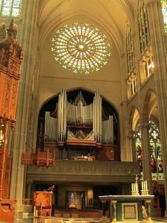 A cool one!!!  And I love the rose window too!!!