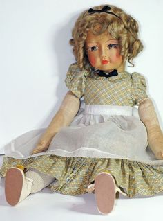 """Rare 25"""" Blossom Shirley Temple Bed or Boudoir Doll A/O Rebel"""