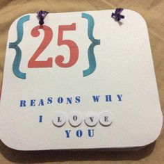 25 reasons cards