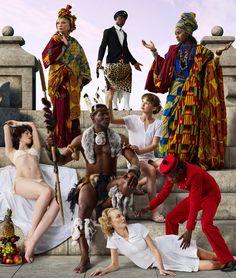 AES+F is a group of four Russian artists: Tatiana Arzamasova, Lev Evzovich, Evgeny Svyatsky, and Vladimir Fridkes.