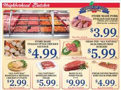 Specials, Butcher Shop. We are constantly striving to bring you the best possible prices. Check the prices listed below to see some of the great values we've found June 25th to July 6, 2014. Garden of Eden is open from 8 a.m. to 9 p.m. Monday through Saturday and 8 a.m. to 6 p.m. Sundays. The store's address is 504 Springfield Ave., Berkeley Heights, NJ 07922. http://www.edengourmet.com/store/default/
