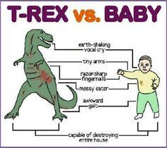 t-rex/baby