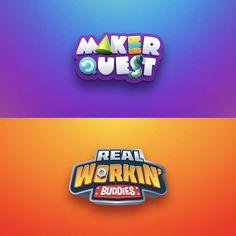 Logo Sketches, Game Logo Design, Band Logos, Game Ui, Text Effects, Typography Art, Branding, Graphic Design, Gaming