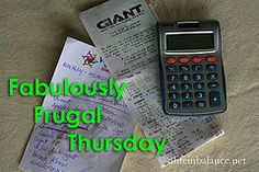 Barb's linky fabulously_frugal_thursday_1 by A Life in Balance, via Flickr