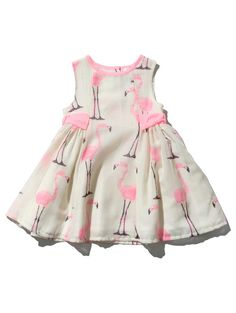 M&Co. Baby BABY GIRLS FLAMINGO DRESS