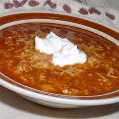 Easy to make and delicious chili - click for recipe