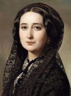 Carolina Coronado by Federico de Madrazo y Kuntz