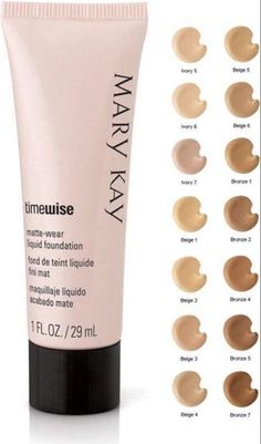 Mary Kay Timewise Matte-Wear Liquid Foundation Ivory 3 Combo to Oily 1 oz NIB! #MaryKay