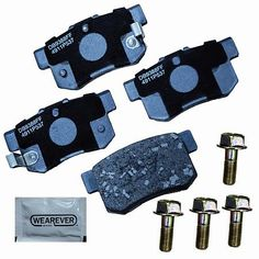 Wearever Platinum - Premium Ceramic Brake Pads - always includes everything you need, lube, hardware  wear sensors where applicable. #autoparts #advanceautoparts