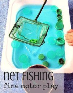 Net Fishing Fine Motor Play
