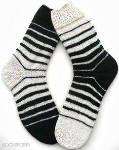 Отличная идея для полосатых носков.