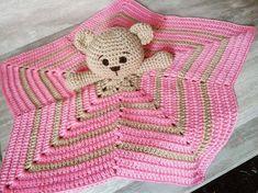 New Knitting Patterns Free Blanket Snuggles Ideas Crochet Security Blanket, Crochet Lovey, Lovey Blanket, Manta Crochet, Crochet Bunny, Baby Blanket Crochet, Crochet Dolls, Free Crochet, Knitting Patterns Free