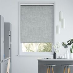 Blackout Roller Blinds To Go™, Huge Range with Free Samples Roller Blinds Design, Modern Roller Blinds, Double Roller Blinds, Modern Blinds, Bedroom Blinds, Curtains With Blinds, Blinds For Windows, Window Blinds, Roller Blinds Kitchen
