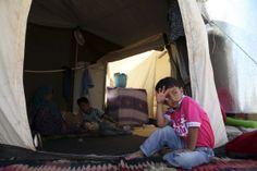 PHOTO: Syrian refugees in Suleimaniyah, Iraq 15 October 2013.
