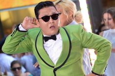 "Daily Life: The image above shows Psy, the Korean singer. Korean singer Psy had 2 billion Youtube views in 2014 and was named an international star for  his hit ""Gangnam Style""."