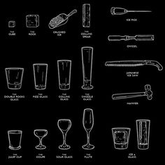 Fox Liquor Bar by Joshua Gajownik, via Behance
