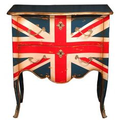 Furniture With British Flag