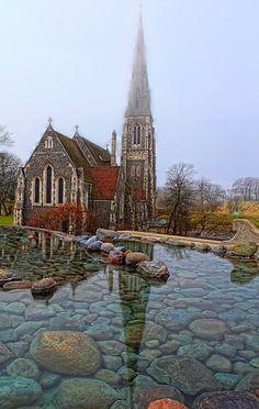 St Alban´s Anglican Church, Copenhagen, Denmark.