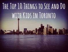 Planning a trip to Toronto with the family? From family attractions to kids' activities, check out our recs on the top things to do in Toronto with kids. Toronto Vacation, Toronto Travel, Vacation Spots, Visit Toronto, Vacation Ideas, The Places Youll Go, Places To See, Niagara Falls Toronto, Places To Travel