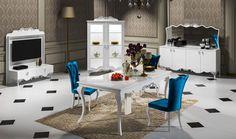 HÜNKAR YEMEK ODASI aile bireylerinin ortak tercihi olmaya aday güzellik ve kalite http://www.yildizmobilya.com.tr/hunkar-yemek-odasi-pmu4039 #mobilya #home #kadın #dekorasyon #avangarde #populer #bedroom #trend http://www.yildizmobilya.com.tr/