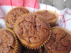 Sweet Potato Chai Muffins. #paleo Ingredients: yam or sweet potato, banana, chai tea, eggs, pecans, flax meal, coconut oil, coconut nectar, vanilla, baking powder, cinnamon,  baking soda, salt, coconut sugar. #paleobreakfast #paleotreat
