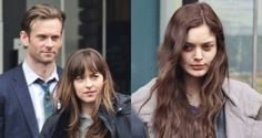 Dakota Johnson Films 'Fifty Shades Darker' Scenes With Eric Johnson & Bella Heathcote | Bella Heathcote, Dakota Johnson, Eric Johnson (Actor), Fifty Shades Darker, Fifty Shades of Grey, Luke Grimes, Movies : Just Jared