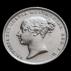 1838 Queen Victoria Young Head Silver Sixpence