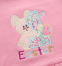 I2S First Easter Applique design