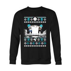 Super Saiyan - GOKU & VEGETA DAB UGLY CHRISTMAS SWEATER - Unisex Sweatshirt T Shirt - TL01015SW