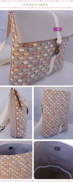 trendy Ideas for origami bag pattern sewing Patchwork Bags, Quilted Bag, Diy Bag Recycled, My Bags, Purses And Bags, Sacs Tote Bags, Origami Bag, Diy Sac, Trendy Handbags