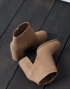 BSK detail ankle boots. Discover this and many more items in Bershka with new products every week