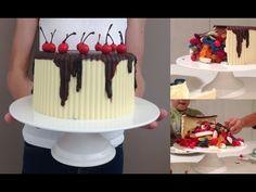 CHOCOLATE PINATA Birthday Cake HOW TO COOK THAT gluten free egg free Ann Reardon Chocolate Pinata, Chocolate Fondant, Chocolate Desserts, Magic Chocolate, Chocolate Spread, Chocolate Lava, Cupcakes, Cupcake Cakes, Mini Tortillas