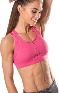 Yvette Tropical Holiday urheilurintaliivi, pinkki