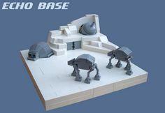 A Lot With A Little: Minimalist LEGO Sci-Fi Movie Scenes