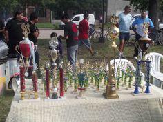 Trofeos del campeonato.