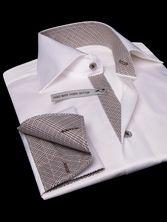 White French Cuffs Shirt Twisted