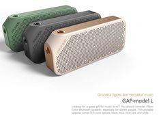 GAP Bluetooth speaker L on Behance: