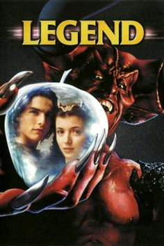 Legend (1985) British-American fantasy adventure film directed by Ridley Scott, starring Tom Cruise, Mia Sara, Tim Curry, David Bennent, Alice Playten, Billy Barty, Cork Hubbert, and Annabelle Lanyon.