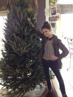 Ciara Bravo: It's just me and the Tree fellas.~ :3