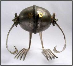 Brian Marshall - Adaptabots Sculptures