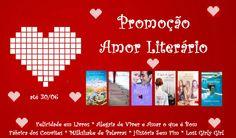 Participem da #Promoção #AmorLiterário e concorram a 2 cestas de livros!