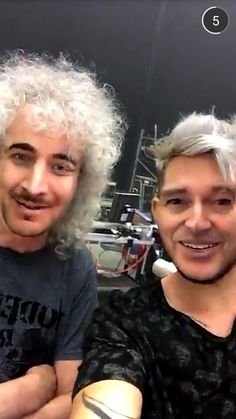 Adam and Brian 2016..so funny..I love these two!