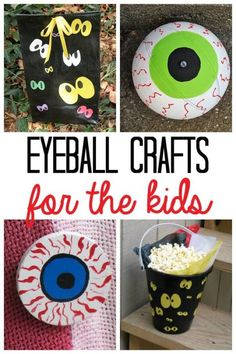 Halloween Eyeball Crafts for Kids (photo credit Amanda Formaro, Crafts by Amanda)