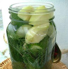 Télen is csodaszer! Ezzel a trükkel nem kell lemondanod a kovászos uborkáról! Pickles, Cucumber, Salads, Food And Drink, Canning, Drinks, Drinking, Beverages, Drink